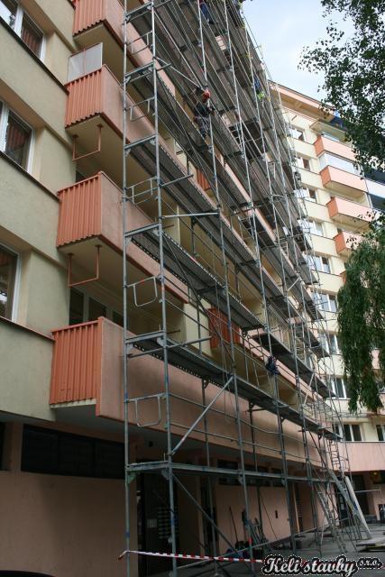 Fasáda a výměna plastových oken